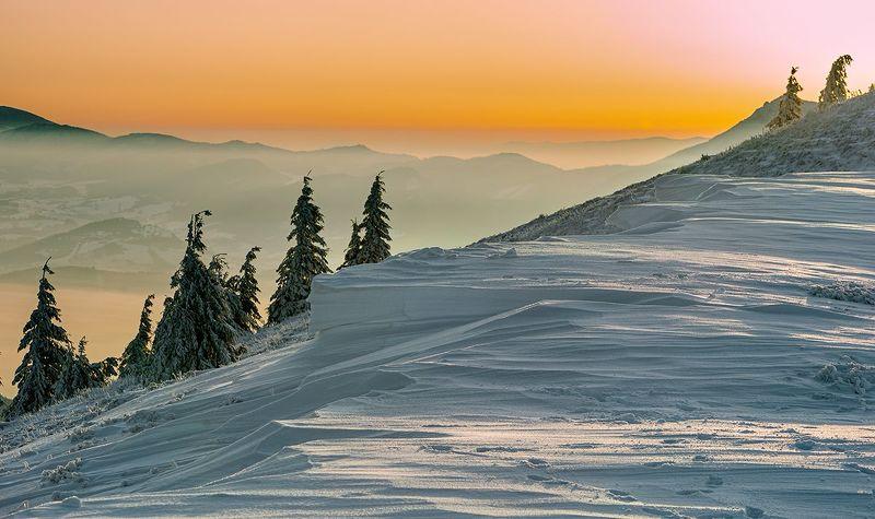 Zima w górachphoto preview