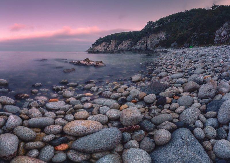 море, скалы, сумерки, камни ***photo preview