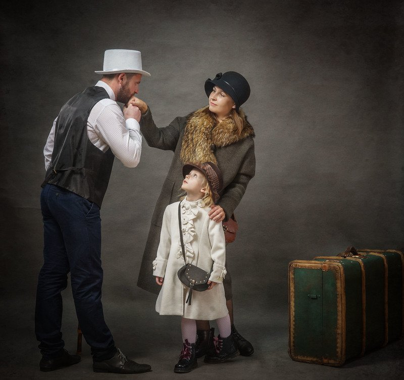 семья, портрет Семейный портретphoto preview