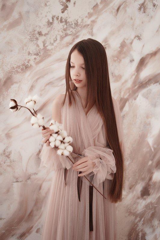 портрет девушка весна свет photo preview