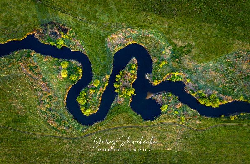 украина, харьков, река, river Природная змейка.photo preview