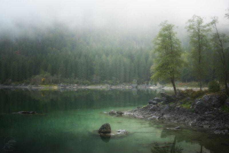 италия, озеро Laghi di Fusinephoto preview