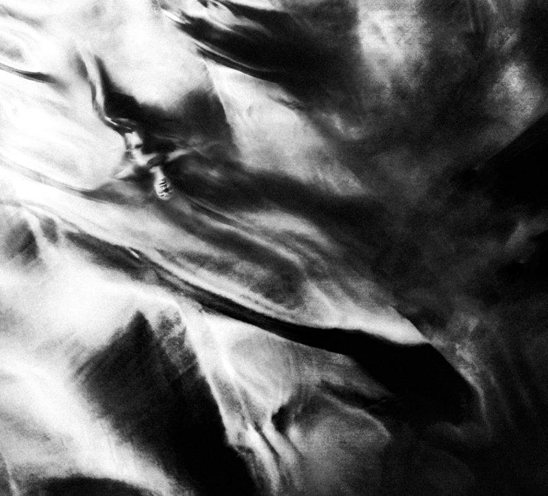 девушка,сон,арт,чб Сонная безднаphoto preview