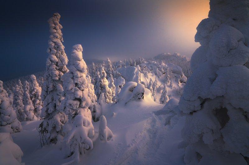 таганай, урал, горы, зима, лес Приглашение в сказкуphoto preview