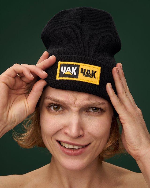 girl, hat, studio, commercial, catalog, portrait, headshot, head, ufa, damdam, style, emotion, nice, fun, funny,  Ufaphoto preview