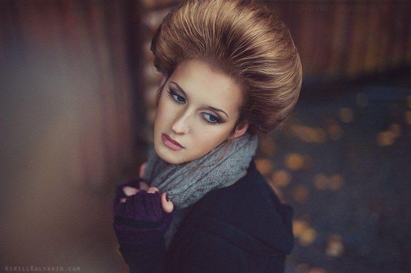 девушка, портрет, осень photo preview