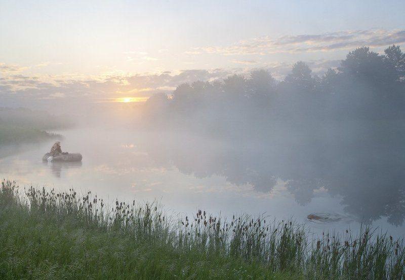 Рыбак, бобр и туман или Чья в реке рыбаphoto preview