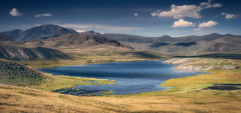 пейзаж, панорама, горы, озеро, алтай, сибирь, природа, путешествия, буйлюкем Буйлюкемphoto preview
