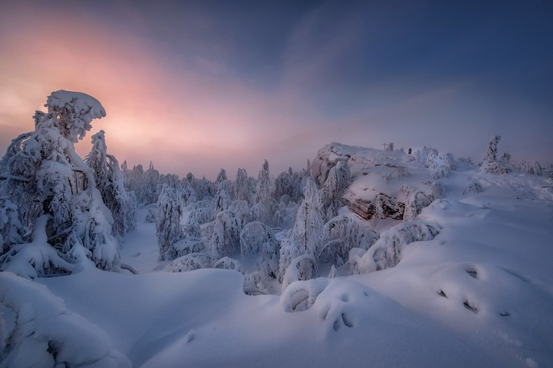 Замерзающий закат