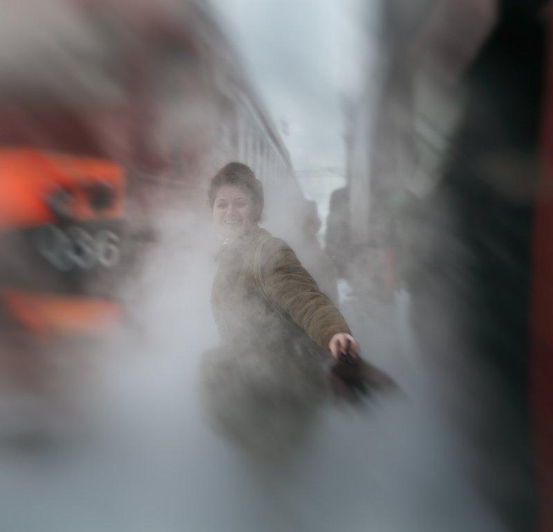 железная, дорога, репортаж, санкт-петербург, петербург, паровоз, техника, город, жанр, люди Жанрphoto preview