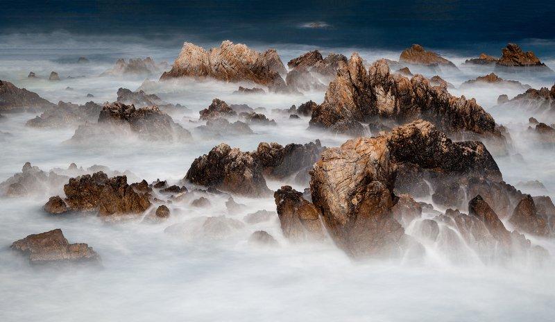 mountains,peak,fog,clouds,wave,seascape,mountain range,rocks Jurassic Dreamsphoto preview