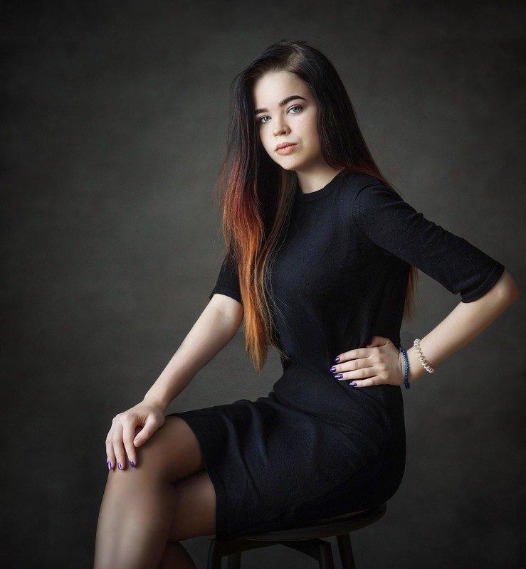 девушка, портрет Дарьяphoto preview