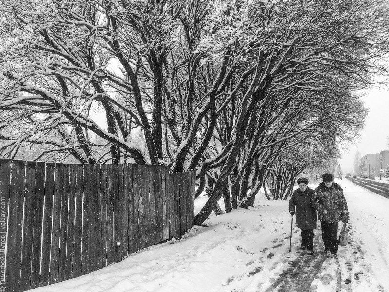Снегопад на День влюблённыхphoto preview