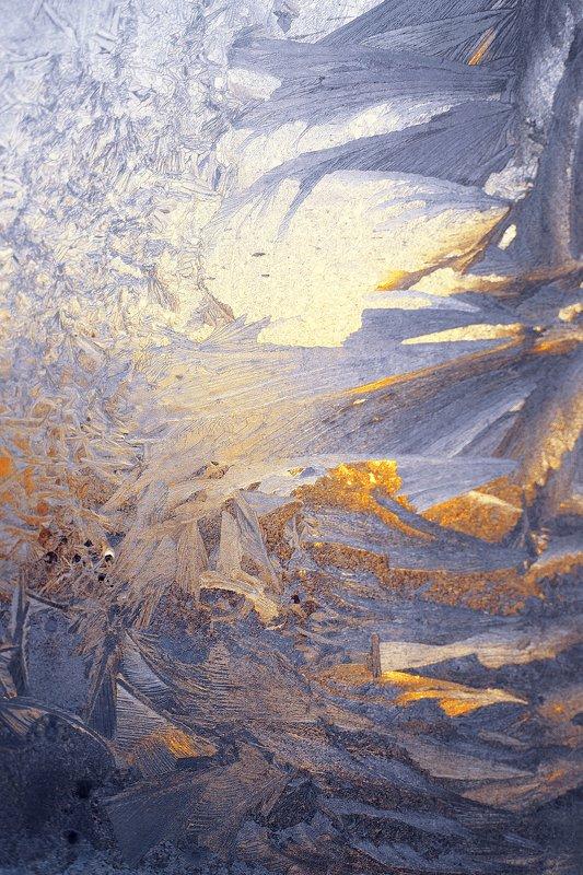 мороз, лёд, стекло,зима,узор Frost paints on glassphoto preview