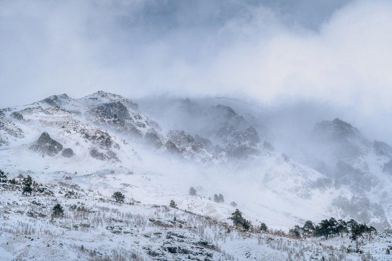 эльбрус, терскол, горы, снег, зима, холод, winter, mountains, elbrus Зимние горыphoto preview