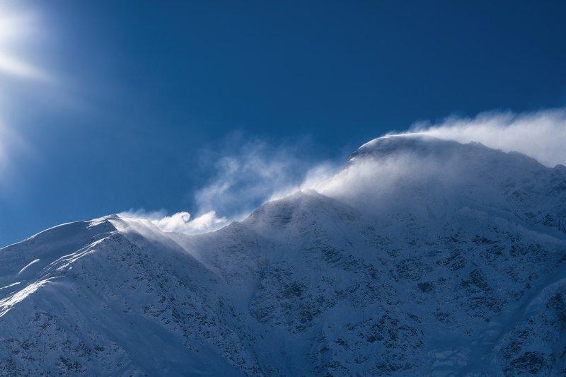 чегет, терскол, горы, зима, снег, солнце, ветер, синий, холод, cheget, terskol, mountains, winter, snow, sun, wind, blue, cold ветер в горахphoto preview