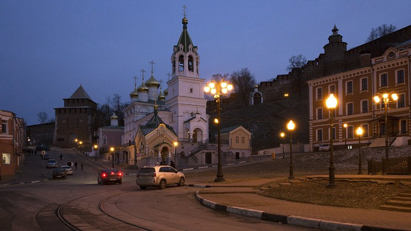 Площадь Народного единства. Нижний новгород.photo preview