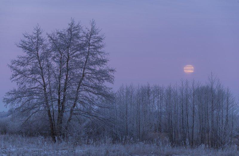 Закат Луны.photo preview