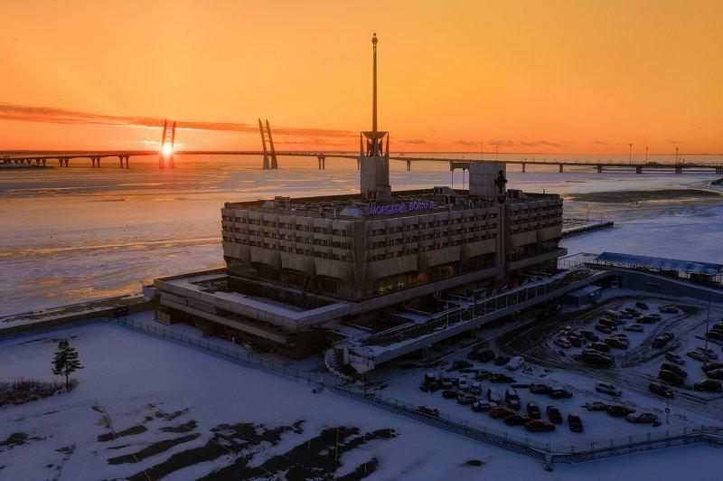 Петербург, город Морской портphoto preview