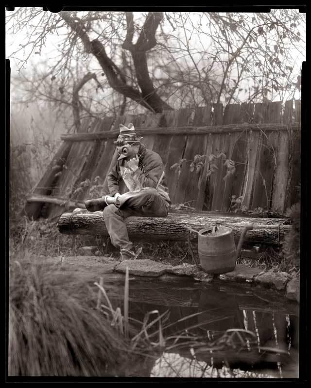 болото, буратино, пруд В ожидании ключика, а на пороге зима...photo preview