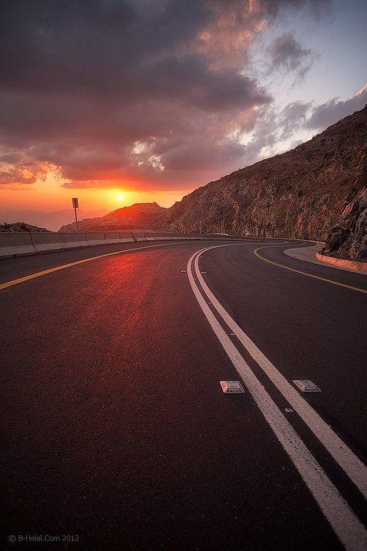 Fiery Roadphoto preview