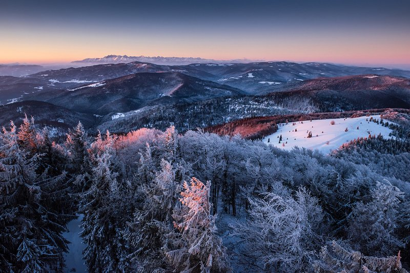 europe Morning in the mountainsphoto preview