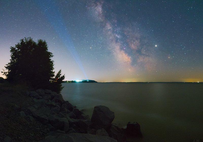 ночное небо, Млечный Путь, звезды, ночной пейзаж, море, камни, ночь, Юпитер, Скорпион, Стрелец, Галактика, панорама, ночная сьемка, лето, Starry night, ray, sea, stones, summer, nightscape, night Sky, stars, Milky Way, galaxy, Jupiter, Scorpion Disco Starry Nightphoto preview