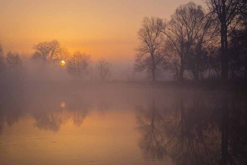 весна,река,пейзаж,природа,утро,рассвет,сергей корнев,украина,гадяч,фотограф,фотография,красота,искусство,композиция Красочное утроphoto preview