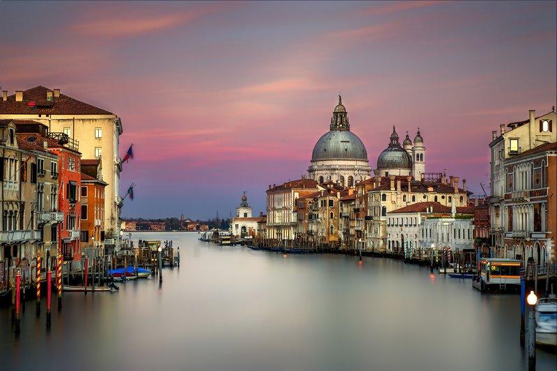 cityscape venice veneto architecture longexposure Sunset over Venicephoto preview