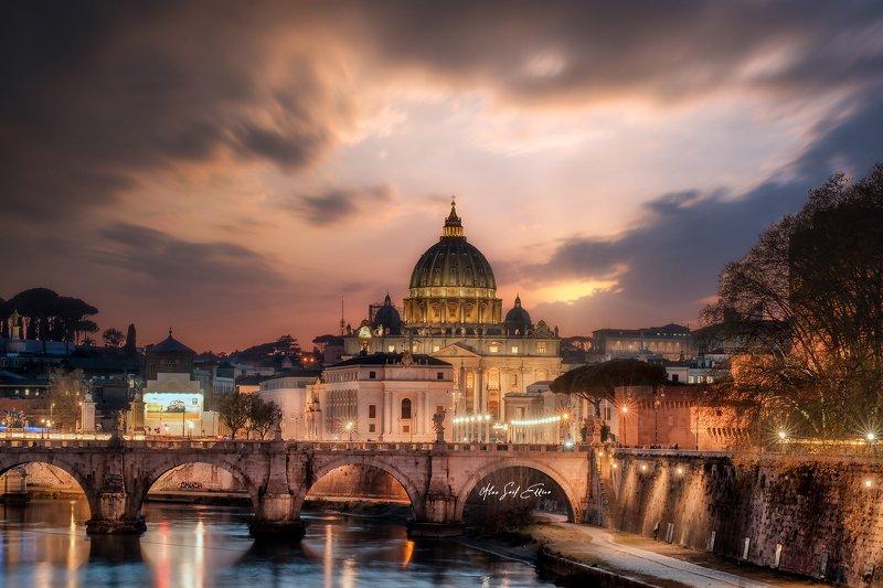 rome vatican architecture cityscape Rain in Romephoto preview