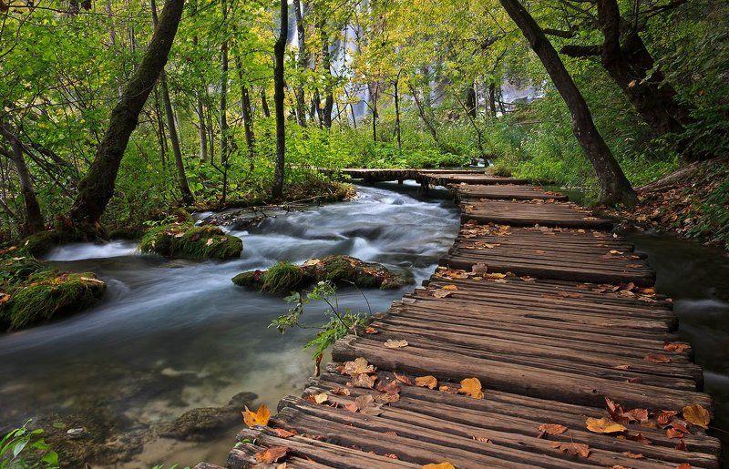 плитвицкие озера, хорватия photo preview