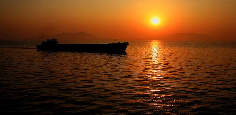 ...пейзаж с корабликом...photo preview