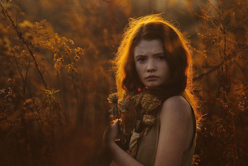 портрет, осень Линаphoto preview