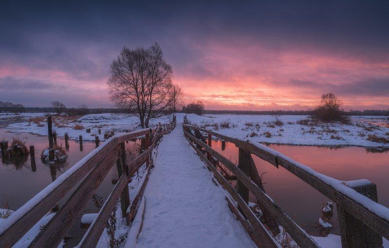 irix15mm, филипповское, рассвет, река, шерна Зима в Филипповскомphoto preview