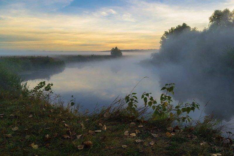 осень,пейзаж,природа,туман,река,украина,сергей корнев,красота,композиция,искусство,фотограф,фотография,свет,ракурс,арт Осеньphoto preview