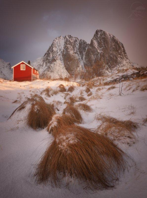 пейзаж, природа, норвегия, лофотены Чубаки атакуютphoto preview