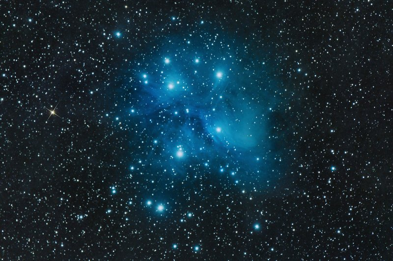 astrophotography M45 - Pleiadesphoto preview