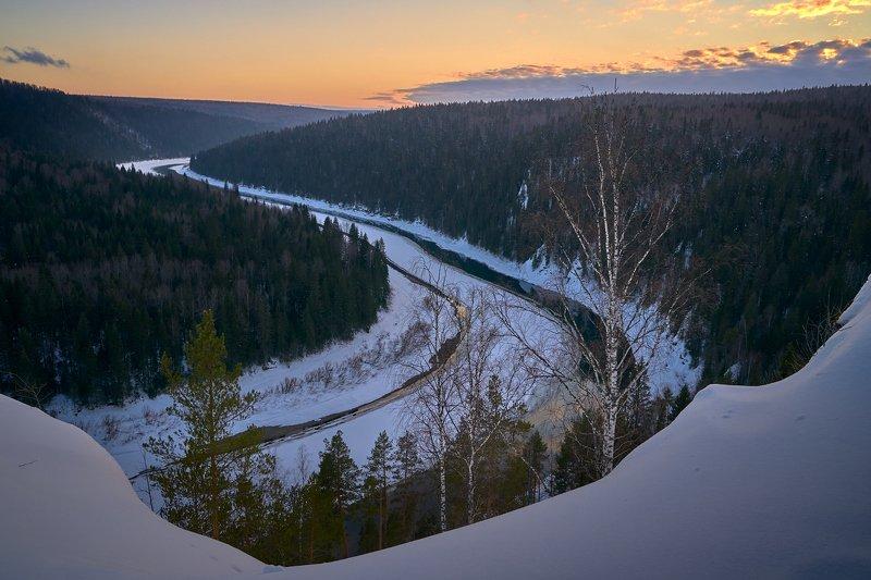 Вечер над Чусовой