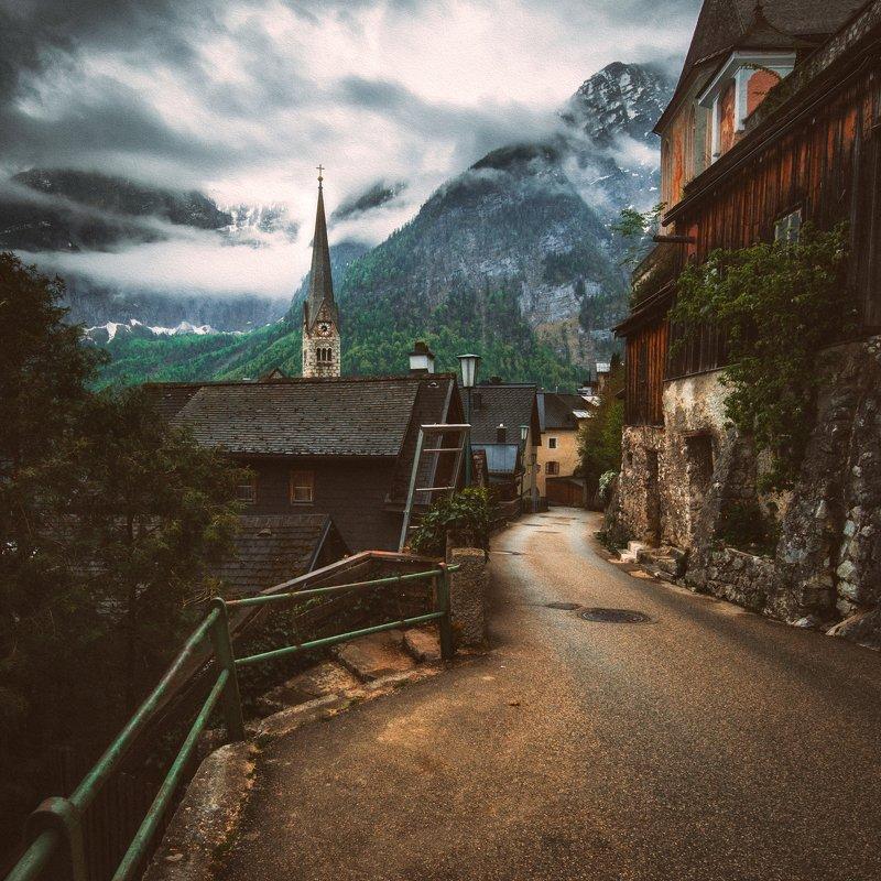 ciyy,travel,alps,mountains,village,street Hallstattphoto preview
