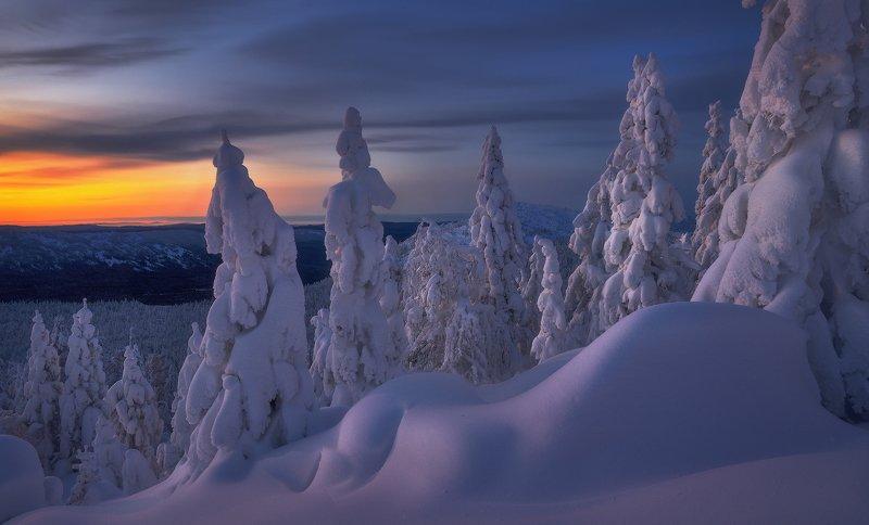таганай, урал, горы, зима, лес Не отпускает...photo preview