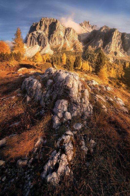 Autumn at Passo di Falzaregophoto preview