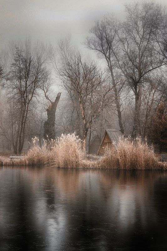 hungary, lake, winter, landscape, photography, mycountry Lakelandphoto preview