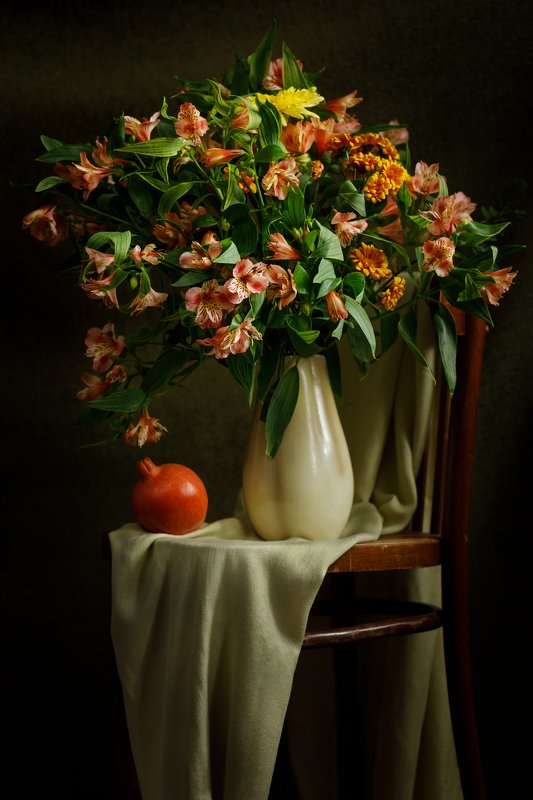 still life, flowers, spring, home, натюрморт, цветы photo preview