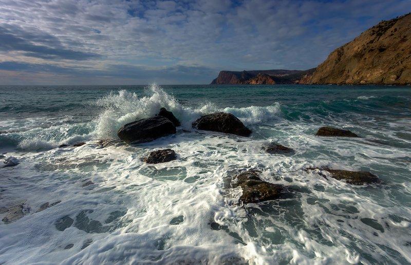 севастополь, балаклава, крым, пейзаж, зима Февраль у моря...photo preview
