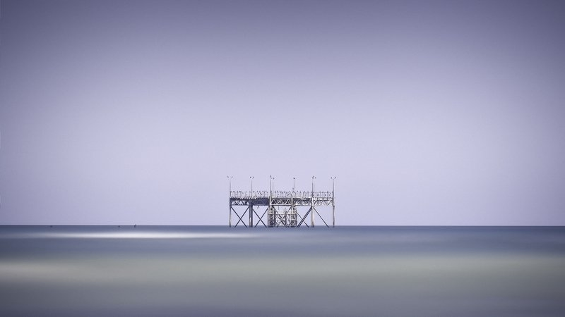 dream,landscape,alexandrucrisan,countryside,far,away,dreamland,sound,lonely,waterscape,storm,blacksea,marine,remains,waterspace,ocean,coast,exposure,le,filter,nd,blue,finart,limitededition,artphotography,shelter,loneliness,alone,longexposure,green,pier,po Refuge of solitude (C)photo preview