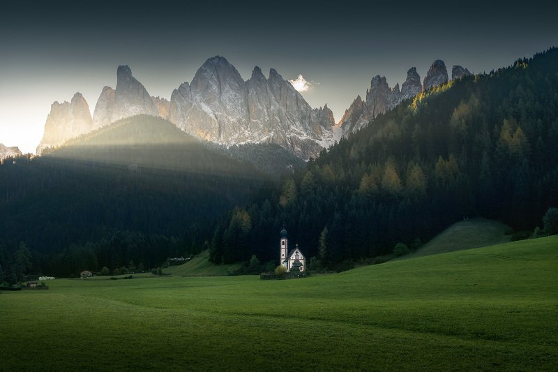 dolomites, light, mountains, travel, adventure The First Lightphoto preview