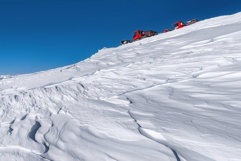 ратрак, эльбрус, гора, снег, зима, winter, snow, elbrus Ратракphoto preview