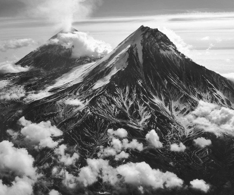 камчатка, вулкан, камень, ключевской, небо, облака, горы, снег Невероятная Камчатка...photo preview