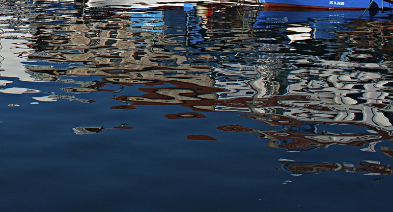 sea,boat,reflections,colors,art,image, BOATSphoto preview