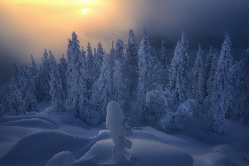 таганай, урал, горы, зима, лес С первым днем уральской весны :-)photo preview